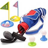 Deluxe Happy Kids/Toddler Golf Clubs SetGrow-to-Pro Golfer 15 Piece Set- by EXERCISE N PLAY