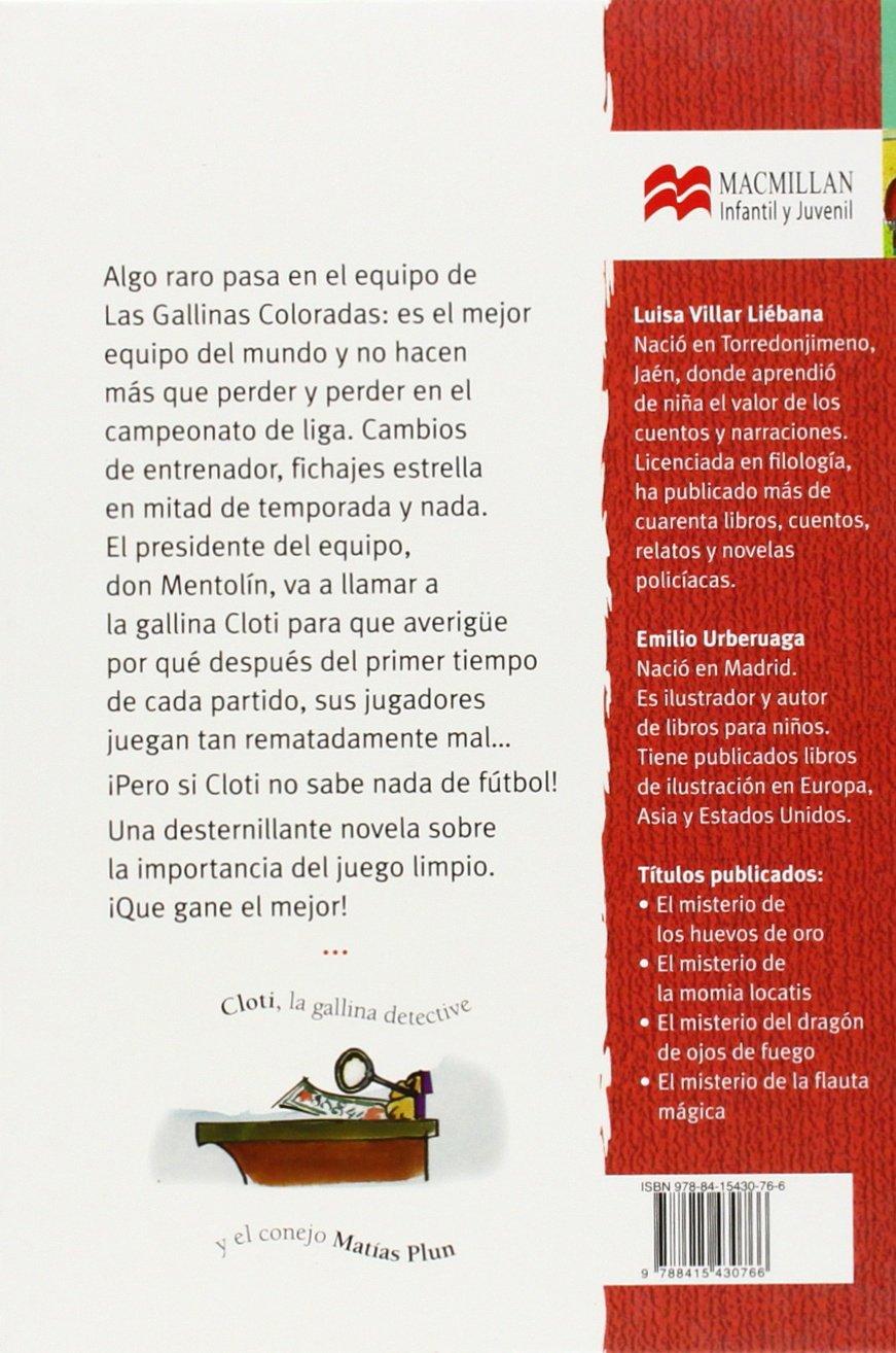 Misterio en el vestuario de fútbol (Librosaurio) (Spanish Edition): Luisa Villar Liébana, Emilio Urberuaga: 9788415430766: Amazon.com: Books