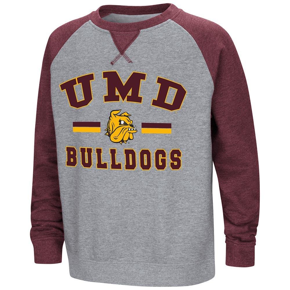 Colosseum Youth Minnesota Duluth Bulldogsフリースクルーネックスウェットシャツ B07DWKFTC9   X-Large (20)