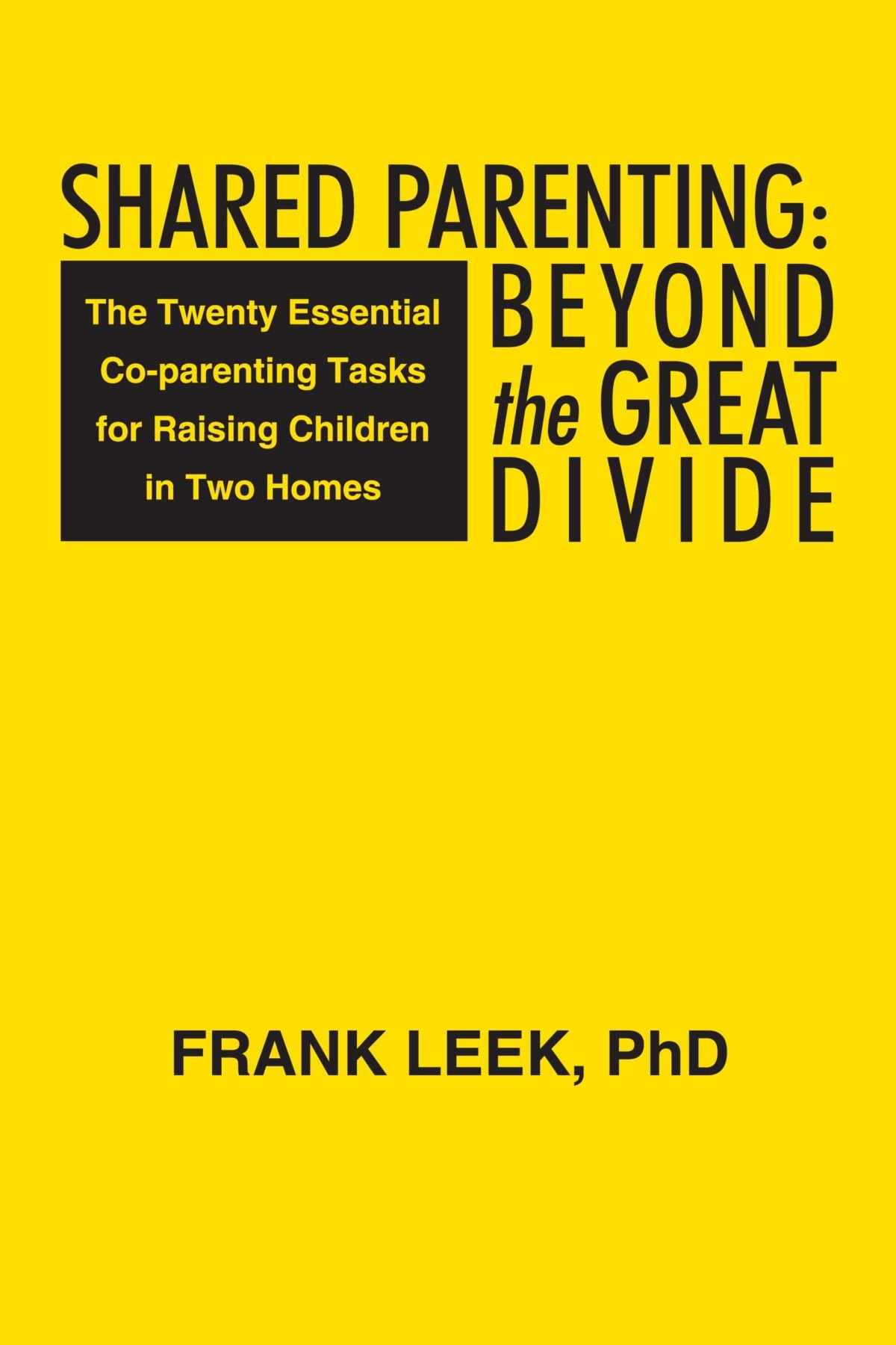 Download Shared Parenting: Beyond The Great Divide: The Twenty Essential Co-Parenting Tasks For Raising Children In Two Homes ebook
