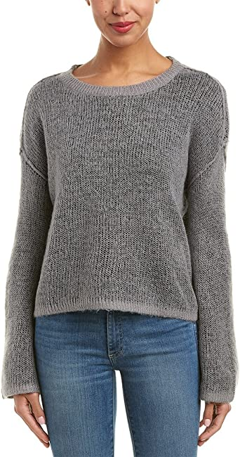 Splendid Womens Crewneck Long Sleeve Pullover Sweater Sweatshirt