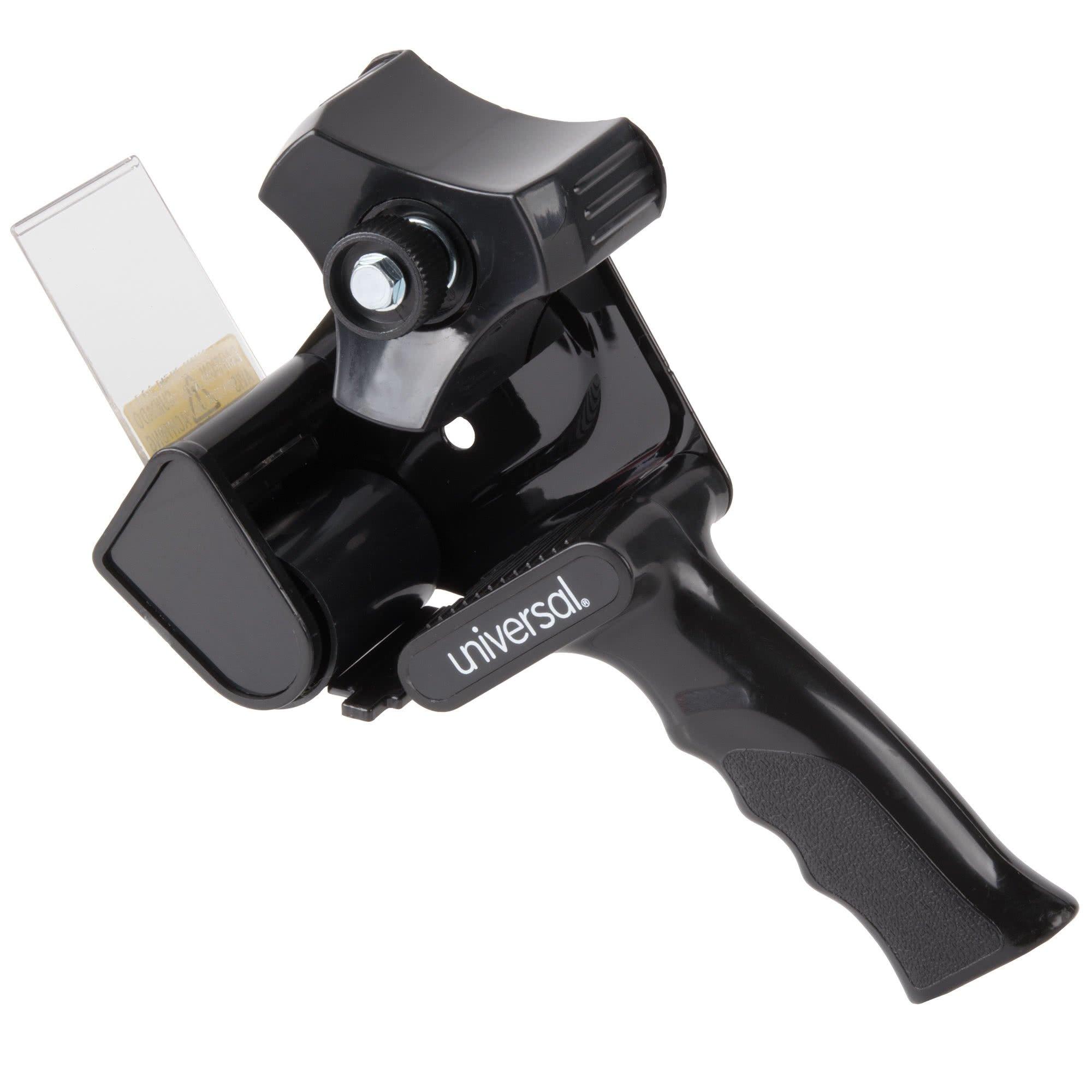 TableTop King UNV88000 3'' Core Black Handheld Box Sealing Tape Dispenser