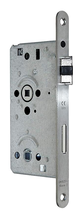 SSF Badezimmer WC Türschloss mit Flüsterfalle Kl.III BAD 55/78/8 ...