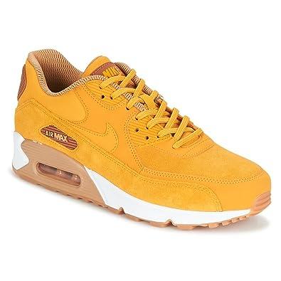 buy online c72bd 97e35 Nike Damen Air Max 90 SE Gelb LederSynthetikTextil Sneaker