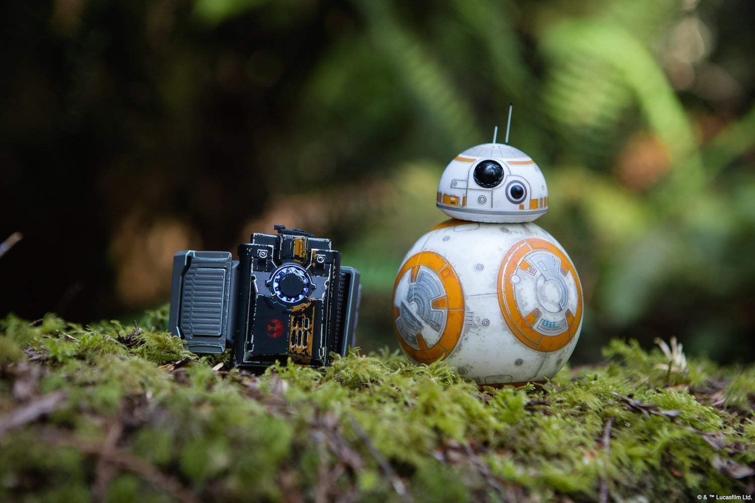 Sphero Special Edition Battle-Worn BB-8 with Force Band (Renewed) by Sphero (Image #6)