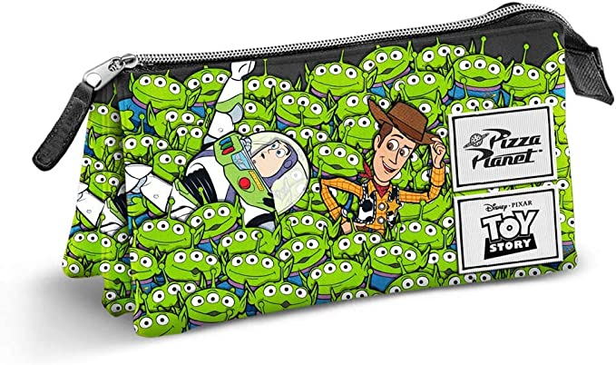 Karactermania Toy Story, Portatodo Triple, 24 cm, Multicolor: Amazon.es: Equipaje