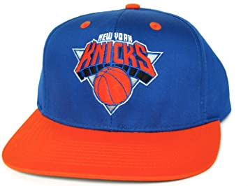 92acfa26e7b ... discount code for new york knicks retro old school snapback hat nba cap  2 tone blue ...