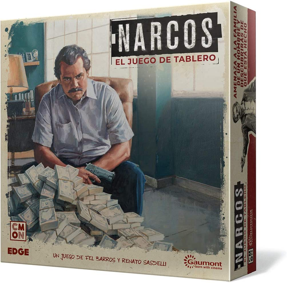 Edge Entertainment- Narcos el Juego de Mesa, Color (EECMNA01): Amazon.es: Juguetes y juegos