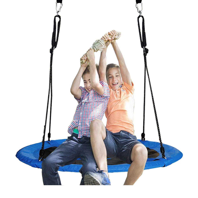 Tree Swing Hanging Kit Hammock Straps 1800Lbs Long 10 Ft Heavy Duty 2 Safety New