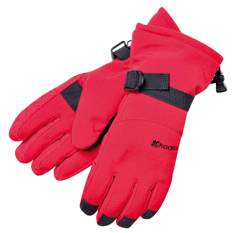 Ergora Damen Softshell Ski Handschuhe Thinsulate™ 40 Gram wasserdicht Fingerhandschuhe 2 Farben 3 Gr. S M L