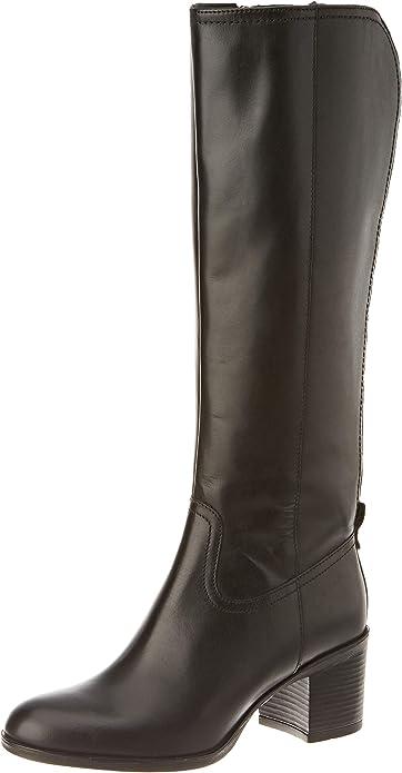 TALLA 38 EU. Geox D New Asheel D, Knee High Boot Mujer