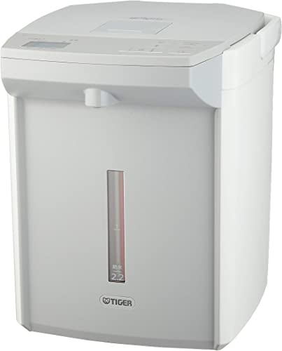 TIGER Steam less VE electric thermos 2.2 Liters white PIJ-A220-W