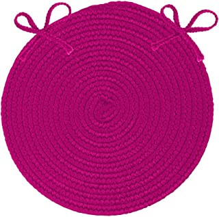 """product image for Boca Raton A015X015 Magenta Chair Pad (Set of 4), 15"""" x 15"""", Pink"""
