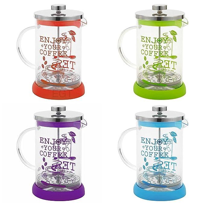 Prensa francesa 800 ml vidrio reutilizable filtro cocina ...