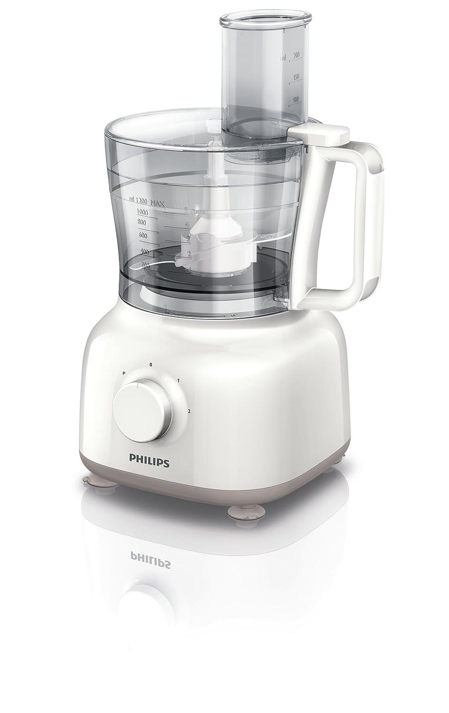 Amazon.de: Philips HR7627/02 Küchenmaschine (650 Watt, inkl ...
