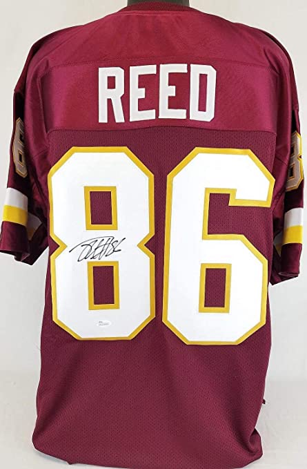 the latest 7d89a 1f8fb Jordan Reed Washington Redskins Autographed Signed Jersey ...