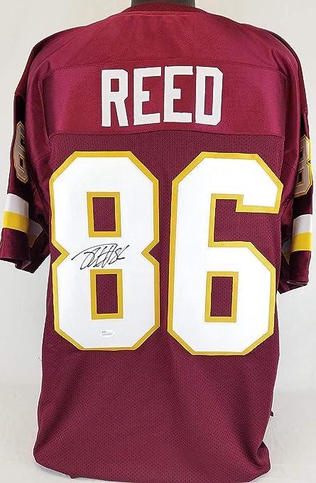 aee132710fe Jordan Reed Washington Redskins Autographed Signed Jersey Memorabilia - JSA  Authentic