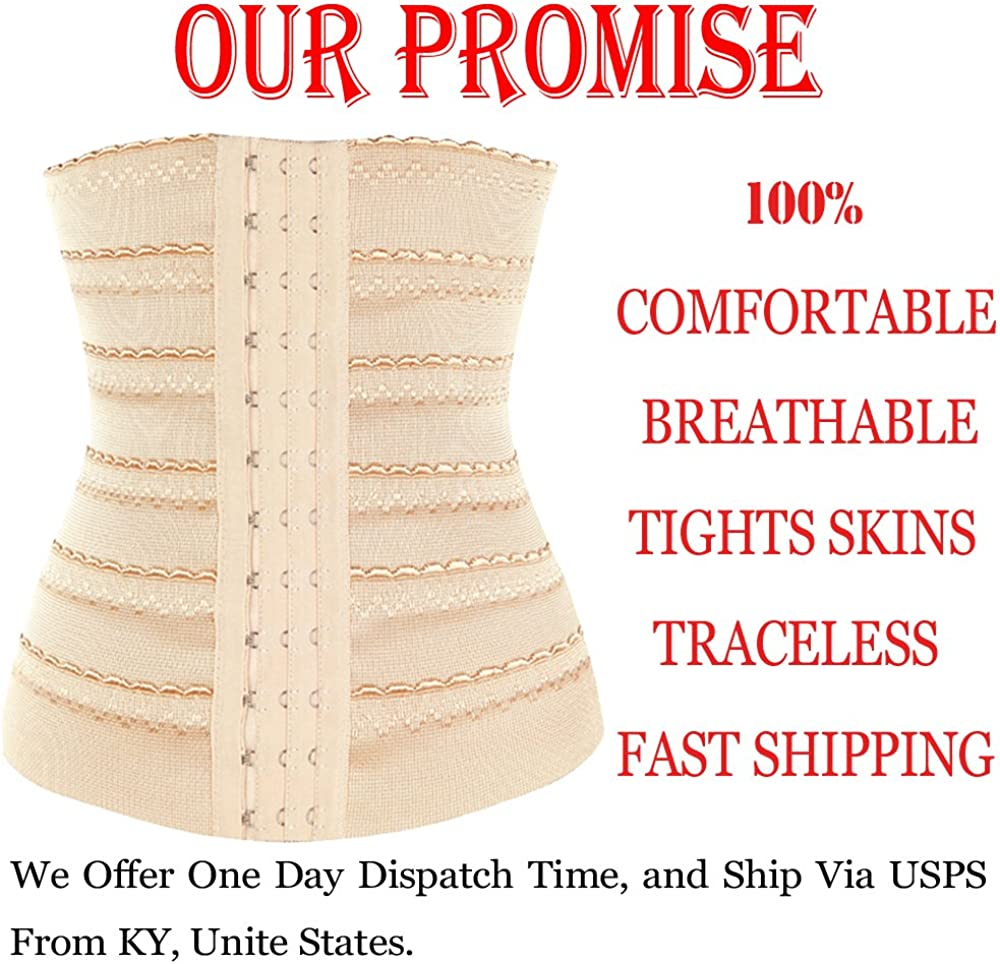 FIRSTLIKE Breathable Bodysuit Shaper Waist Corset Gym Sport Training Shapewear
