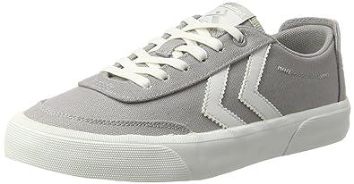 Hummel Unisex-Erwachsene Stockholm Summer Low Sneaker, Grau (Alloy), 45 EU