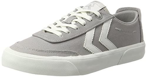 Hummel Stockholm Summer Low, Zapatillas Unisex Adulto, Blanco (Pristine White), 39 EU