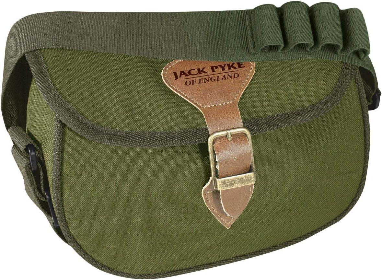 Jack Pyke 100 Cartouche Sac Duotex Vert Ou Marron De Chasse//Tir livraison gratuite