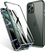 iPhone 11 Pro Max Case, ZHIKE Magnetic Adsorption Case Front and