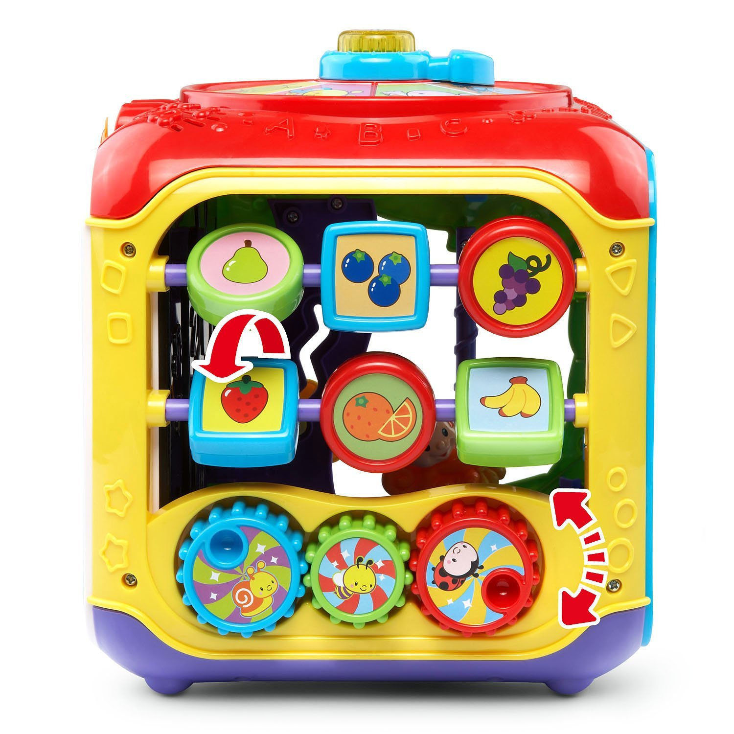 VTech Sort and Discover Activity Cube, Red by VTech (Image #3)