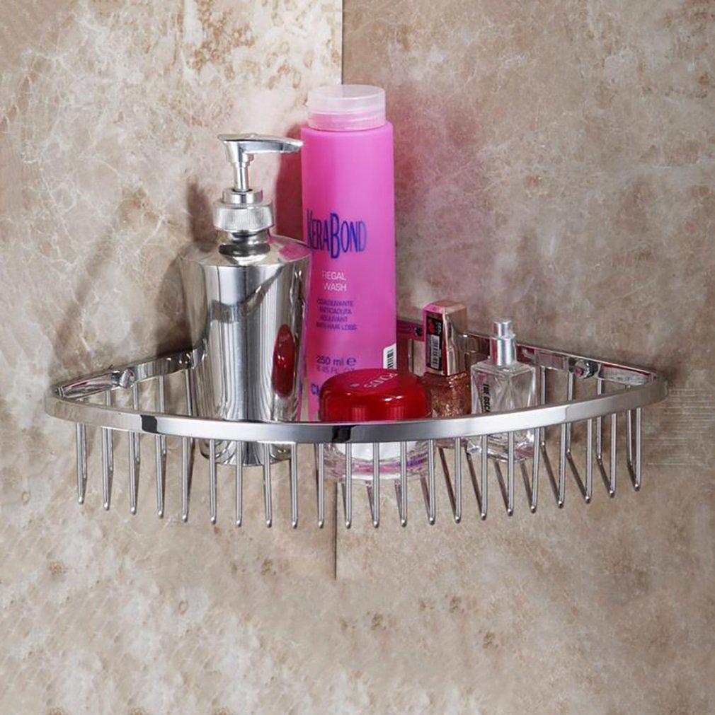 Bathroom Storage Shelf,Stainless Steel Kitchen Torage Organizer Shelves Holder,Hotel For Office Wall Mount Shelf Basket Holder