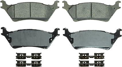 Disc Brake Pad Set-QuickStop Disc Brake Pad Rear Wagner ZD1602