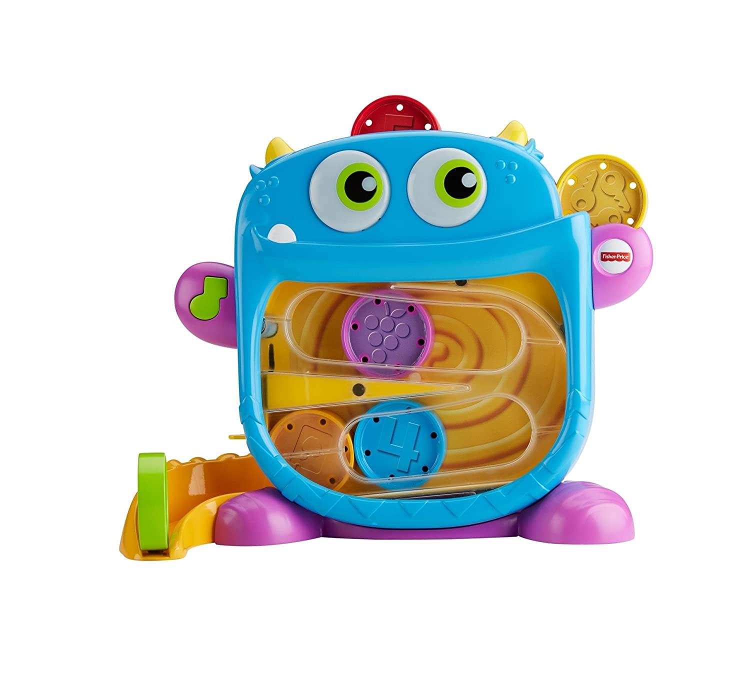Amazon.com: Fisher-Price Hungry Monster Maze: Toys & Games