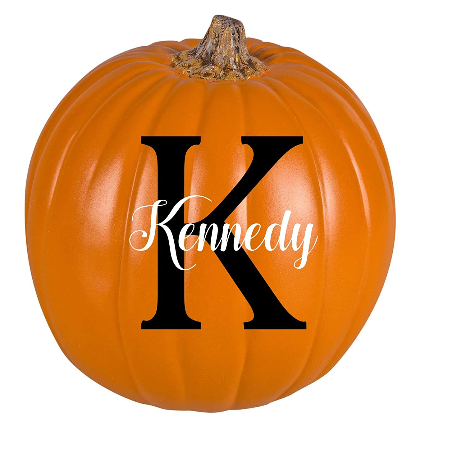 Personalized Monogram Pumpkin- 9 Inches
