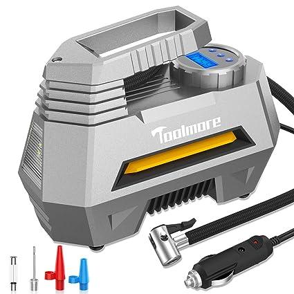 Fahren Portable Air Compressor Pump Digital Tire inflator 12V 150 PSI Auto Tire Pump with Bright