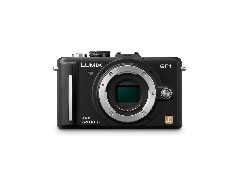 Amazon.com : Panasonic Lumix DMC-GF1 12.1MP Micro Four-Thirds  Interchangeable Lens Digital Camera with 14-45mm Lens : Compact System  Digital Cameras ...