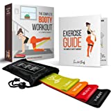 Tone that body Booty Bands for Women I Set of 4 Thick Mini Resistance Bands That Don't roll up I Full Exercise Guide to Target The Glutes Included I Perfect for Legs, Butt, Thigh and Hip Workout
