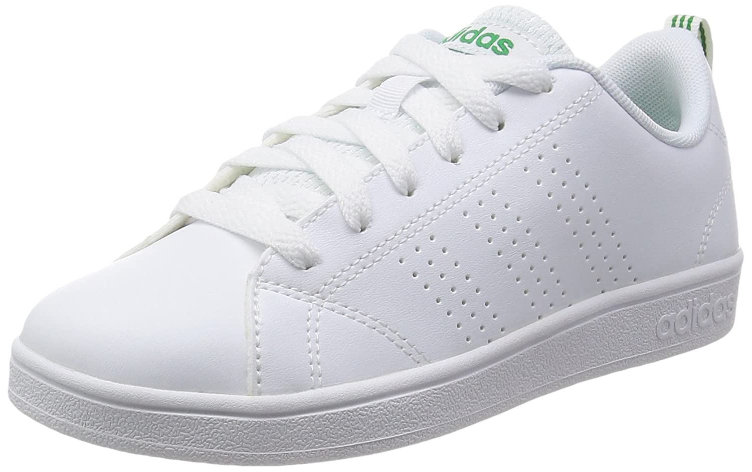 Adidas Vs Advantage Cl K Baskets, Mixte Enfant, Blanc, 4.5