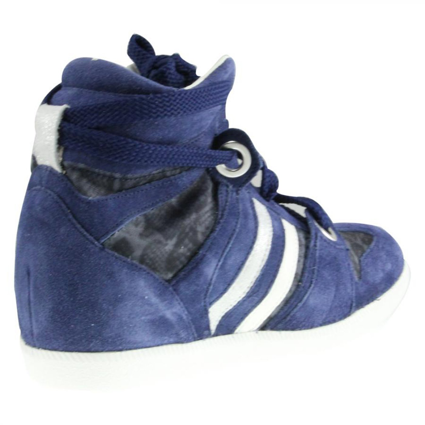 SERAFINI donna Wedges 2751 Manhattan ritagliare Snake Blue 2751 Wedges Blu 046d37