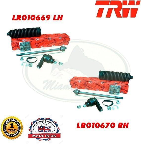 LAND ROVER STEERING TIE ROD END /& SPINDLE REPAIR KIT RH LR3 LR010668 TRW