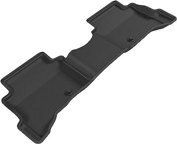 Tan 3D MAXpider Complete Set Custom Fit All-Weather Floor Mat for Select Hyundai Ioniq Hybrid Models Kagu Rubber