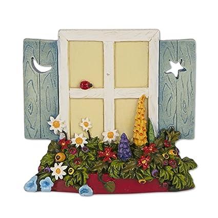 Studio M Merriment Mary Engelbreit Fairy Garden Mini Hanging Fairy Window
