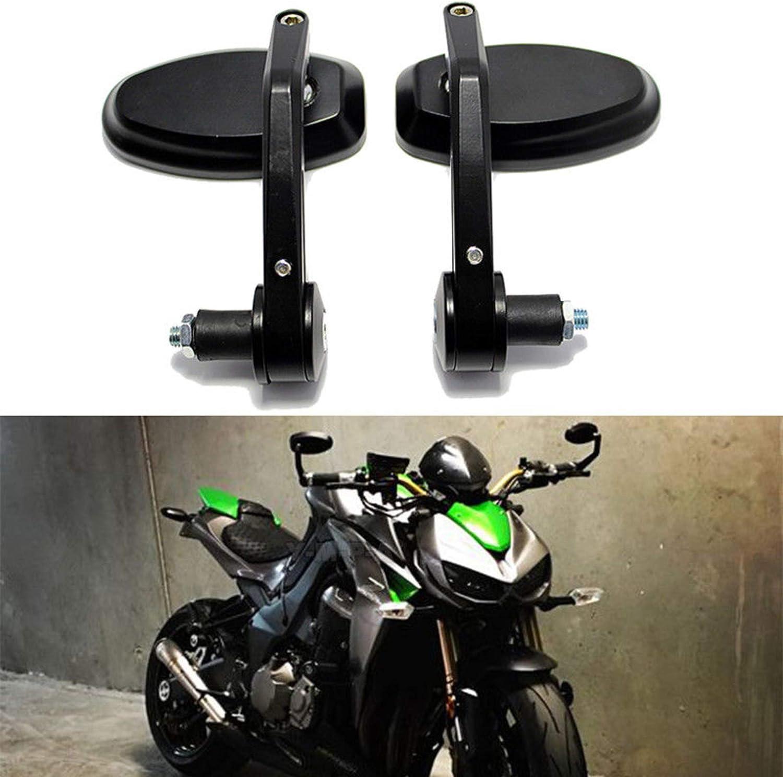 "7//8/"" Bar end Mirrors Motorcycle Street bike Sport For Cruiser Chopper models"