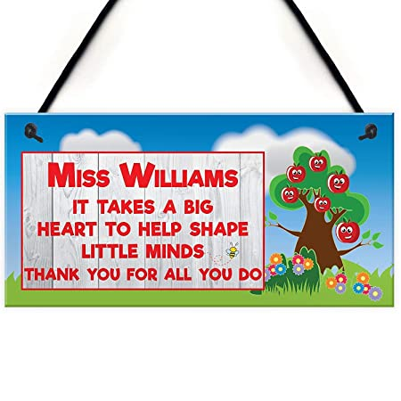 Mr.sign Miss Williams Cartel de Pared Madera Placa Madera ...