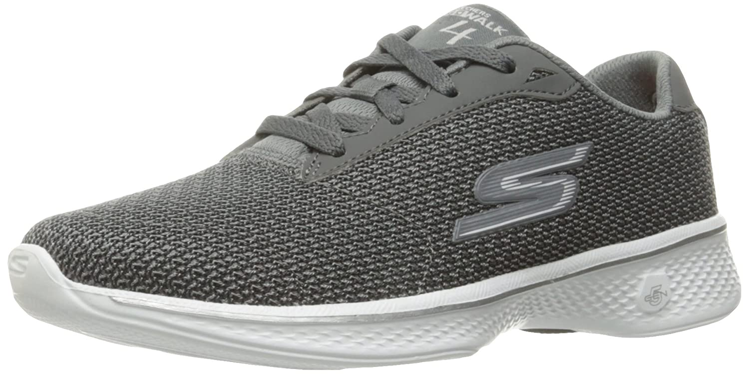 Skechers Performance Women's Go Walk B01IIZIS0W 4 Lace-up Walking Shoe B01IIZIS0W Walk 7.5 B(M) US|Gray 00be1c