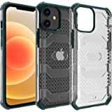 Restoo Compatible with iPhone 12/12 Pro Case,Anti-Slip Hard Armor Shockproof Case with Full Body Rugged Heavy Duty Protection
