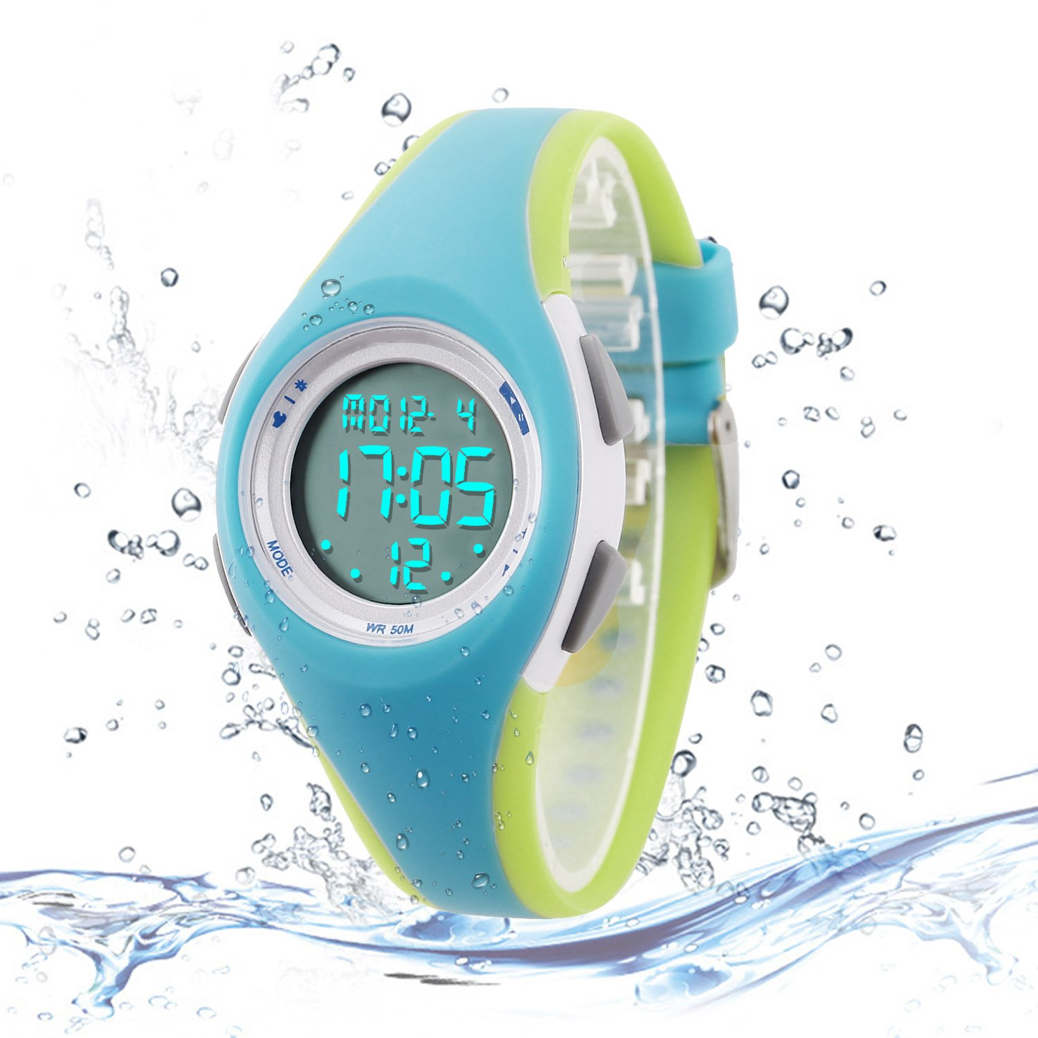 Kids Digital Sport Watch Outdoor Waterproof LED Watch with Alarm for Child Boy Girls Gift Kids Watch