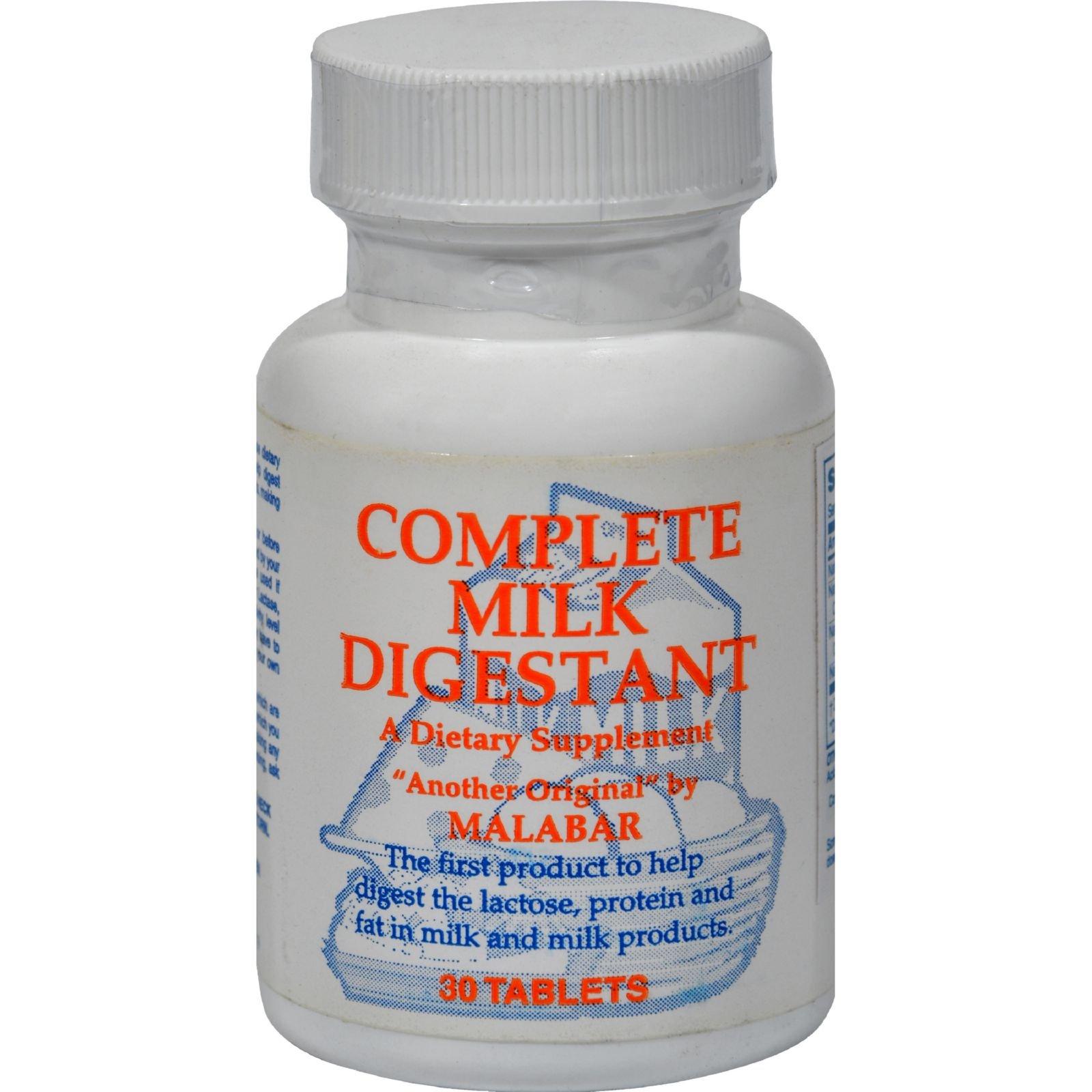 Malabar Complete Milk Digestant - 30 Tablets (Pack of 2)