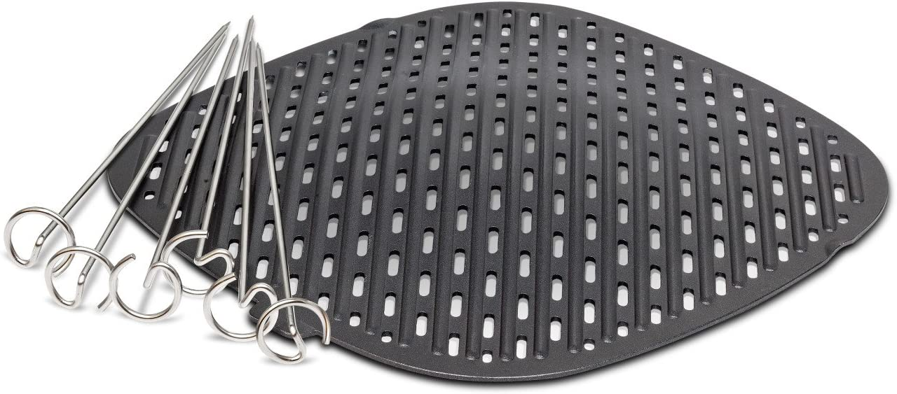 Philips Kitchen Appliances Grill Master Accessory Kit with Grill Pan and Skewers-for Philips Airfryer XXL models