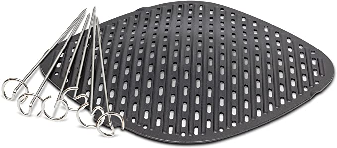 Amazon.com: Philips Kitchen Appliances Grill Master Accessory Kit with Grill Pan and Skewers-for Philips Airfryer XXL models: Kitchen & Dining