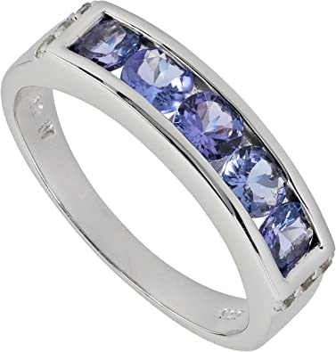 harry ivens bague or tanzanites