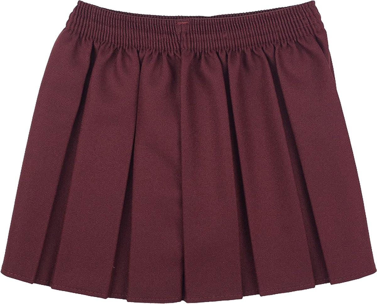 School Skirt Girls Box Pleat Uniform All Colours Sizes Only Uniform/® UK