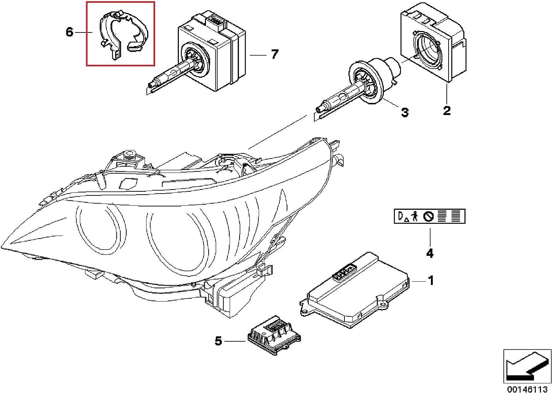 2007 bmw 525i brake diagram amazon com 2 x bmw genuine head lamp headlight bulb retainer 525i  head lamp headlight bulb retainer